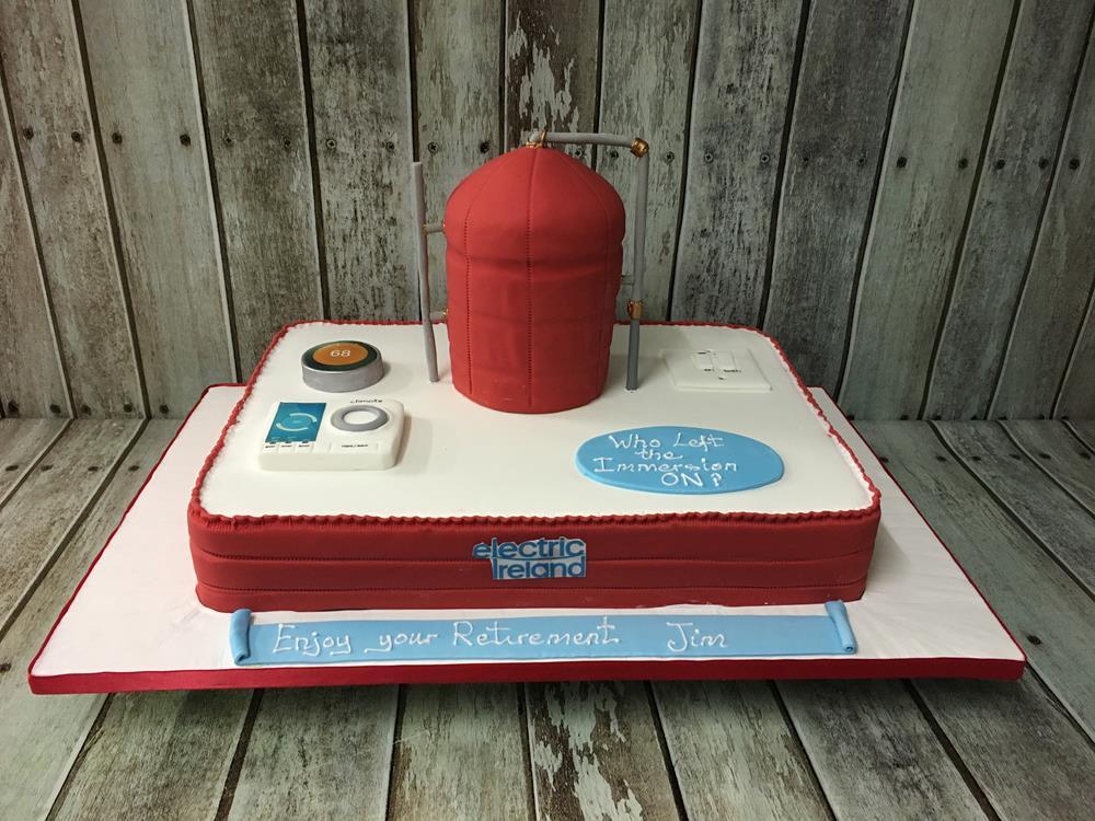 plummers birthday cake