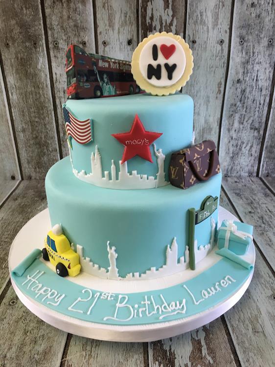 New your birthday cake