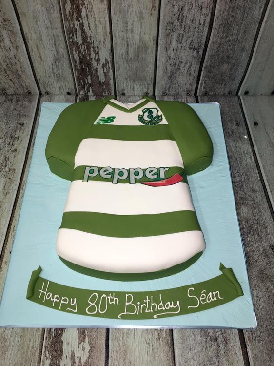 Shamrock Rovers Jersey cake