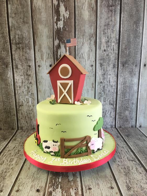 birthday cake barn