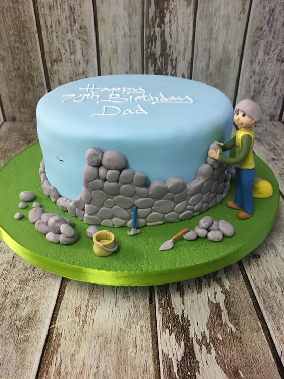 birthday cake builders design