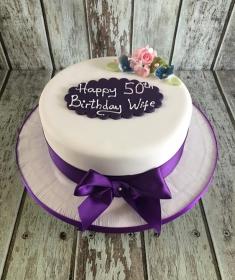 Birthday cake Wife