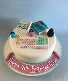 College Student Birthday cake