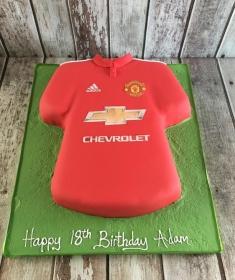 Man Utd Jersey cake