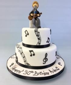 Musician Birthday cake