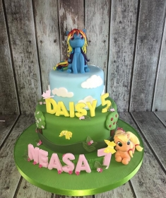 My Little pony birthdan cake 1