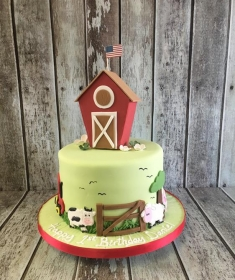 birthday cake barn
