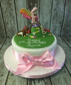 fairy todestool birthday cake