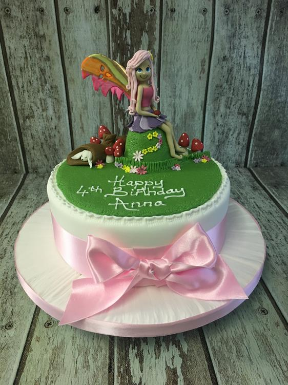 Fairy Todestool Birthday Cake