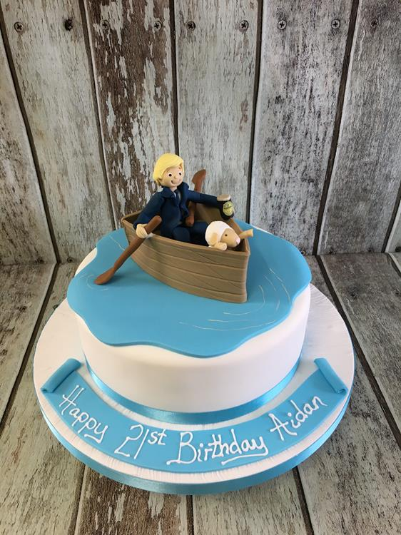 Man Rowing A Boat Birthday Cake Dublin Ireland Archives Amazing