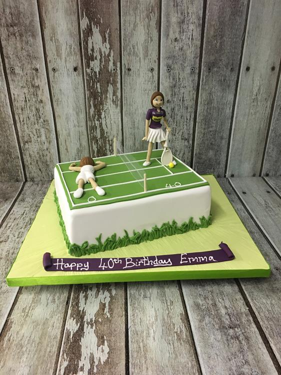 Tennis birthday cake Dublin Ireland Archives Amazing cakes Irish