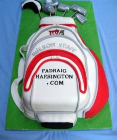 Padraig Harringtons Birthday Cake