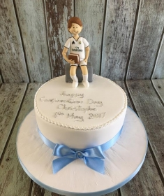 Confirmation cake for Christophe