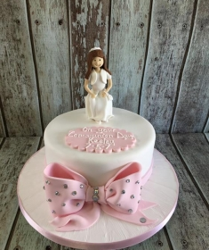 communion cake for Keeley