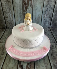 communion cake for Lilly