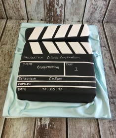 confirmation cake clipboard