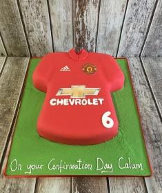 confirmation cake for Callum