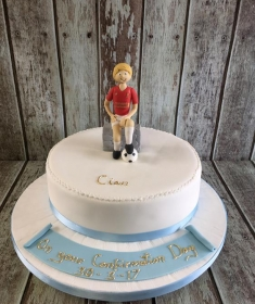 confirmation cake for Cian