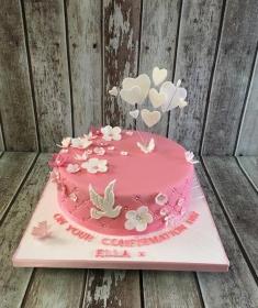 confirmation cake for Ella