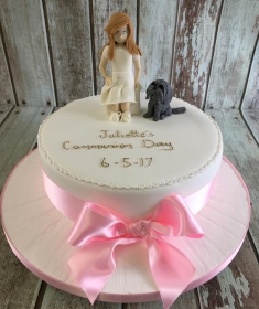 conformation cake for Juliette