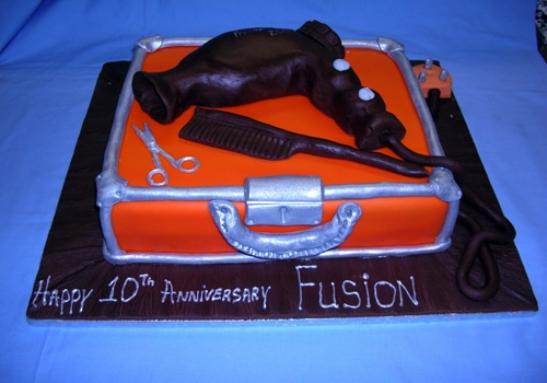 Fusion Hair salon 10th anniversary
