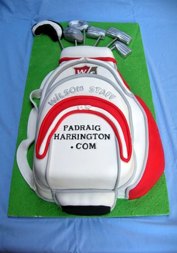 Padraig Harringtons Birthday Cake