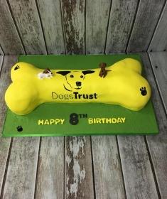Corporate cake for Dogs Trust Dublin Ireland