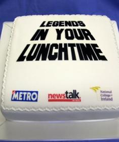 Corporate cake for Newstalk
