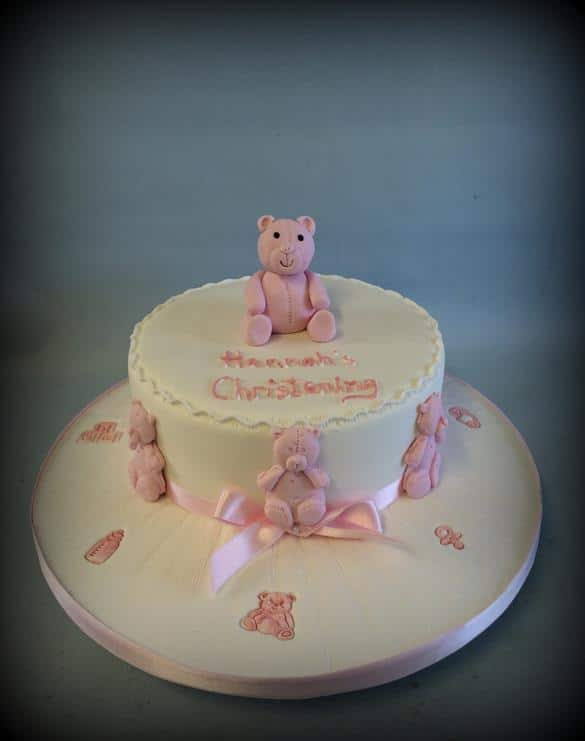 Christening Cake Baby Shower
