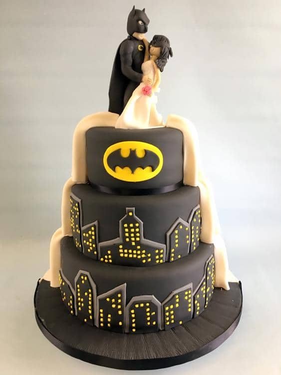 Batman wedding cake,2