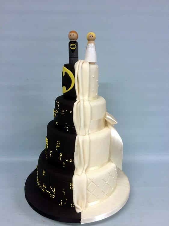 Batmans wedding cake (Copy)