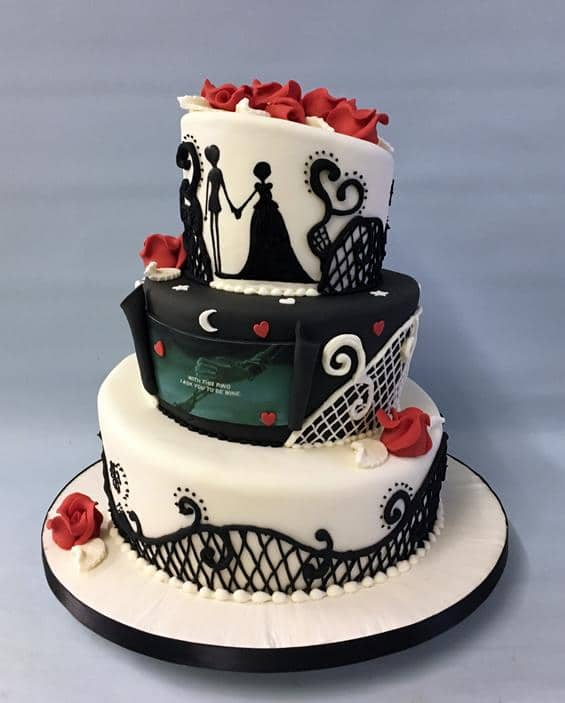 Corps Bride wedding cake