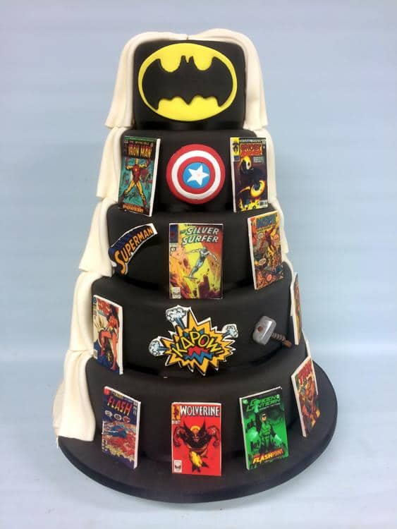 Super hero cake 2 (Copy)