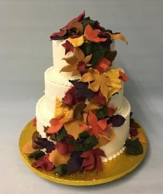 Autum wedding cake, 2