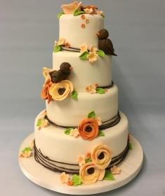 Autum wedding cake,1