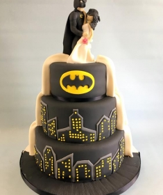 Batman wedding cake,2