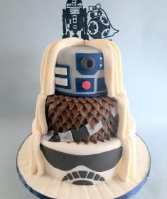 Starwars wedding cake