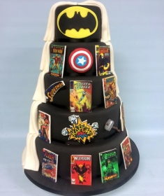 Super hero cake 2 (Copy)