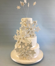 winter wedding cake,4
