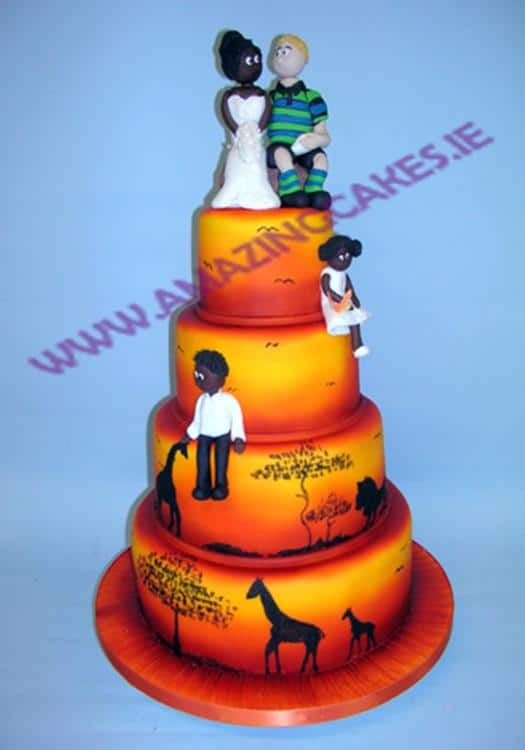 lg_Julie and Brian African themed wedding cake (Copy)
