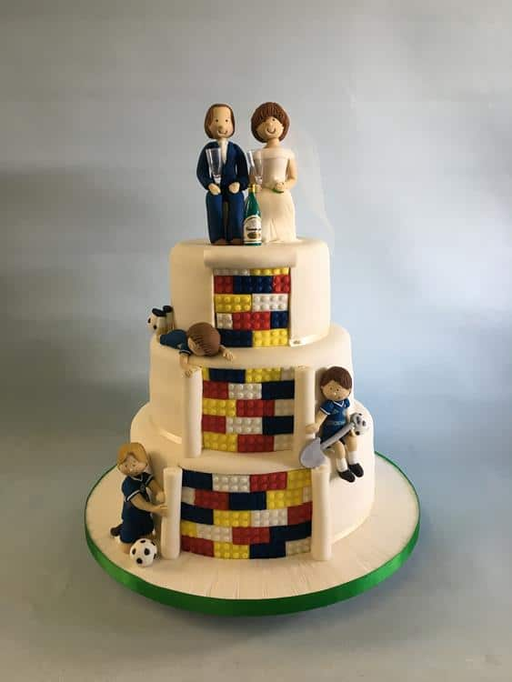 Image Result For Irish Wedding Cake