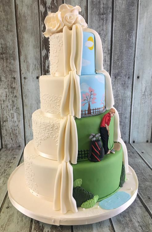 golf wedding cake toppers ireland wedding cakes amazing cakes wedding cakes based in 14851